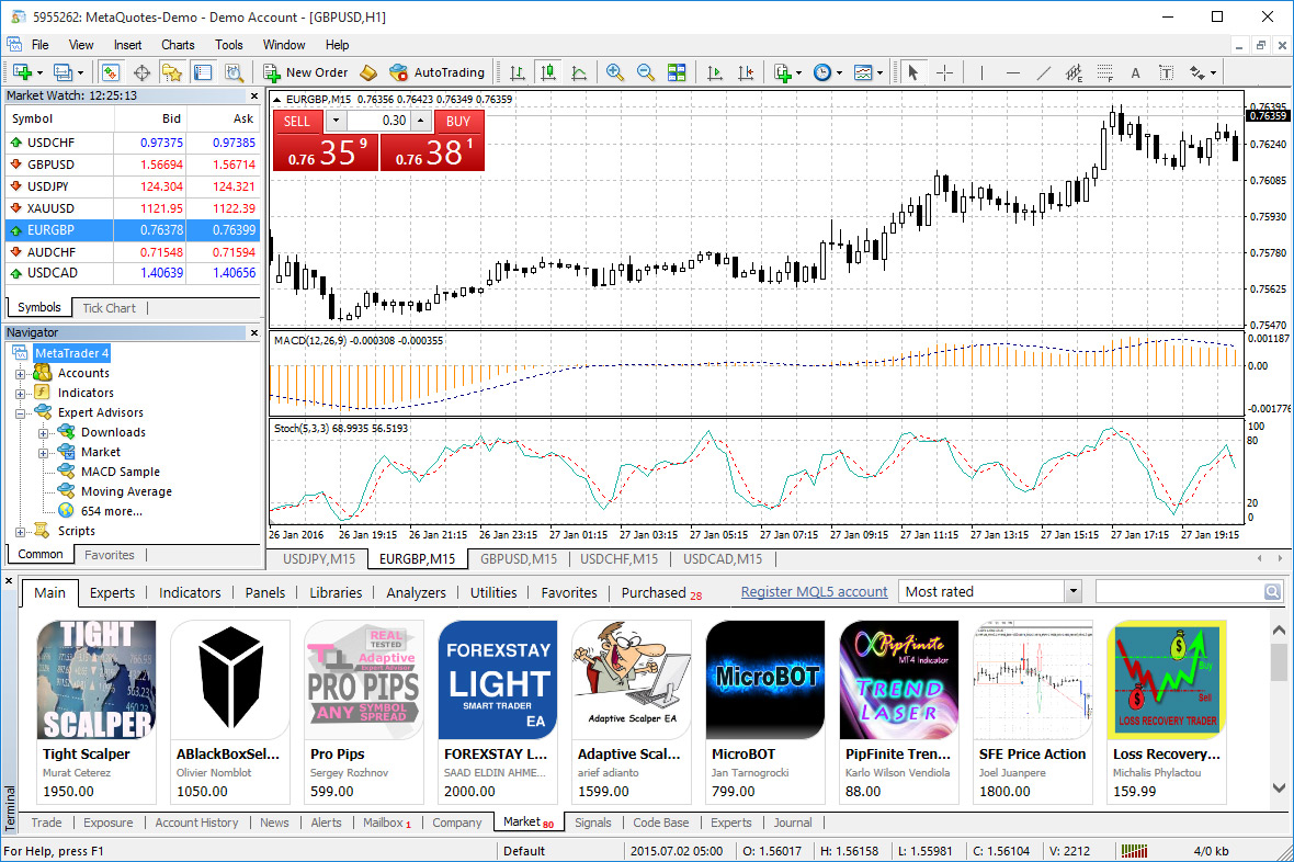 metatrader version 4 open account